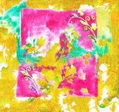 Фрески впечатления Watercolour Стоковые Изображения
