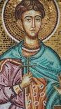 Фрески на Кипре, изображение святого человека стоковое изображение