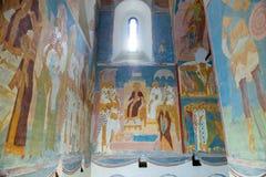 фрески Dionysius стоковая фотография