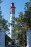 Фретка крышки, Франция, маяк Стоковая Фотография RF