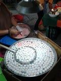 Фрикадельки, fishballs Стоковые Изображения