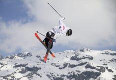 Фристайл лыжи Стоковые Изображения RF