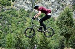 Фристайл BMX стоковая фотография