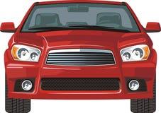 фронт автомобиля иллюстрация вектора