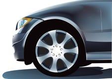 фронт автомобиля иллюстрация штока