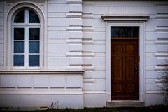Фронт арендуемой квартиры Стоковое Фото