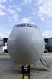 Фронт большого воздушного судна перехода войск Стоковое фото RF