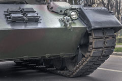 Фронт военного транспортного средства Стоковое Изображение RF