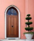 фронт двери стоковое изображение