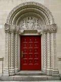 фронт двери chruch к стоковое изображение