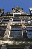 Фронт дома Амстердама Нидерландов, Grachtendpand Амстердама стоковое изображение rf