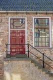 Фронт исторического дома в Leeuwarden Стоковая Фотография RF
