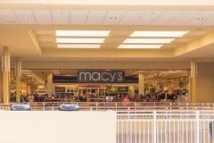Фронт магазина розничной торговли ` s Macy стоковое фото