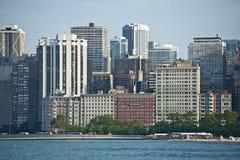 Фронт озера Чикаго Стоковое Фото