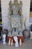 Фронт памятника Зевса керамической мастерской от пещеры района Зевса в острове Крита стоковое фото rf