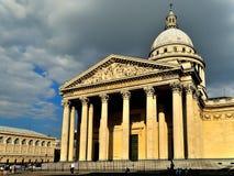 Фронт пантеона в Париже Стоковые Фото