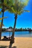 фронт пляжа Стоковое фото RF
