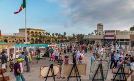 Фронт пляжа Cabo San Lucas Стоковая Фотография
