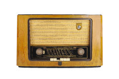 Фронт старого ретро радио Стоковая Фотография RF