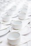 фронт фокуса чашек кофейной чашки мечтательный имеет смотреть фото мягкое Стоковое Изображение