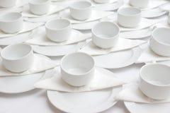 фронт фокуса чашек кофейной чашки мечтательный имеет смотреть фото мягкое Стоковая Фотография RF