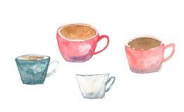 фронт фокуса чашек кофейной чашки мечтательный имеет смотреть фото мягкое Стоковые Фотографии RF