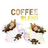 фронт фокуса чашек кофейной чашки мечтательный имеет смотреть фото мягкое бесплатная иллюстрация