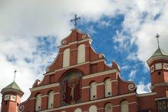 Фронт церков стоковое изображение rf