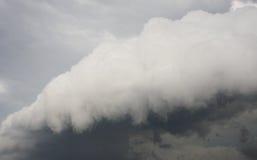 Фронт шторма двигает внутри Стоковая Фотография