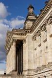 Здание Reichstag в Берлине стоковые изображения