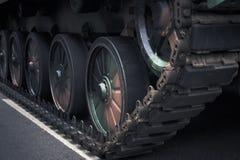 Фронт tehnical военные транспортные средства Стоковое Фото
