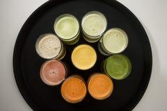 фруктовые соки Стоковая Фотография