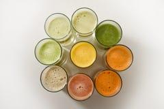 фруктовые соки Стоковое Фото