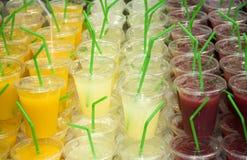 фруктовые соки Стоковая Фотография RF