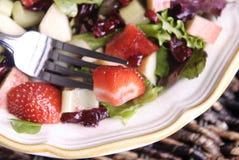 фруктовый салат крупного плана стоковые фотографии rf