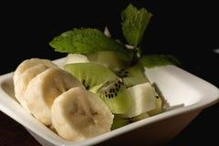 Фруктовый салат десерта Стоковое фото RF
