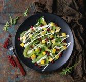 Фруктовый салат с югуртом Стоковая Фотография RF