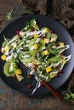 Фруктовый салат с югуртом Стоковые Фото