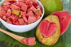 Фруктовый салат Guava стоковая фотография rf