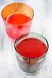 Фруктовый сок и овощ Стоковое Фото