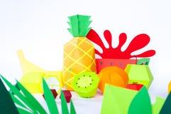 Фруктовый сок концепции, reklama элемента Выплеск от лимона стоковое изображение rf