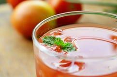 Фруктовый сок томата Стоковые Изображения