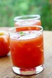 Фруктовый сок томата Стоковое фото RF
