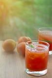 Фруктовый сок томата Стоковая Фотография RF