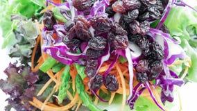 Фрукты и овощи смешанного салата Стоковое Фото