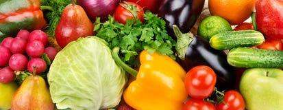 фрукт и овощ стоковое изображение rf