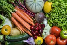 Фрукт и овощ Стоковые Фото