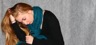 фрустрация предназначенная для подростков Стоковые Изображения RF