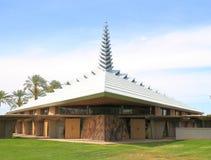 Фрэнк Ллойд Райт: Церковь в Фениксе Стоковые Фотографии RF