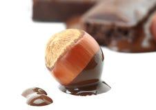 фундук шоколада Стоковое Фото